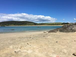 Matai sandy beach