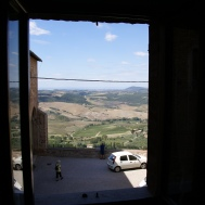 Tuscany View from apartment