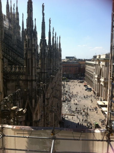 From the rooftop of Duomo