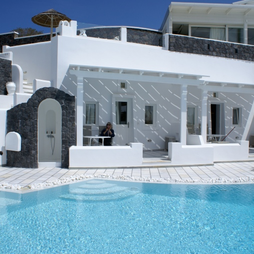 Santorini Princess Room exterior