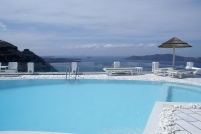 Santorini Princess pool views