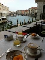 Venice breakfast terrace