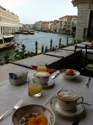 Venice breakfast terrace