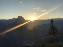 Sunrise from Glacier Point