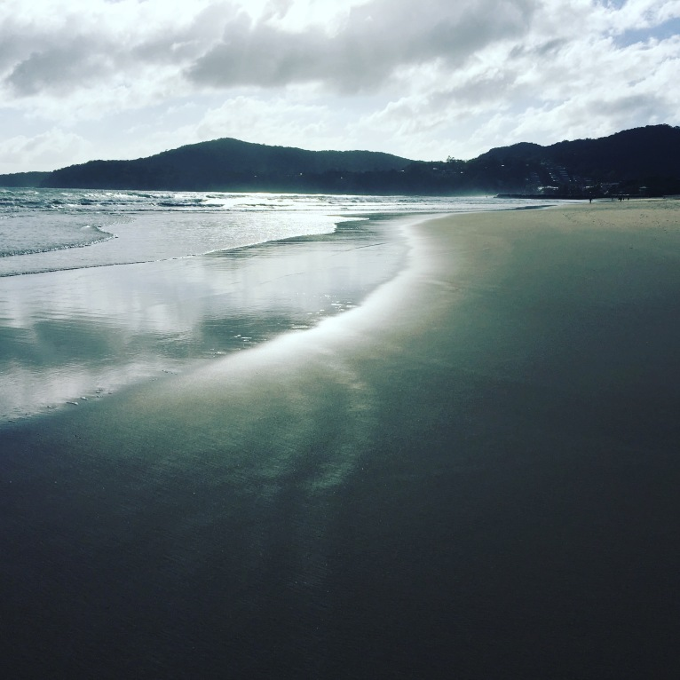 Noosa beach mornings