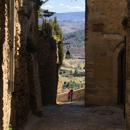 Gordes views