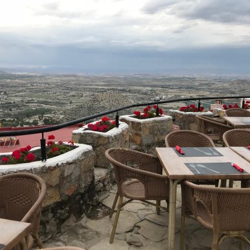Cool dinner terrace