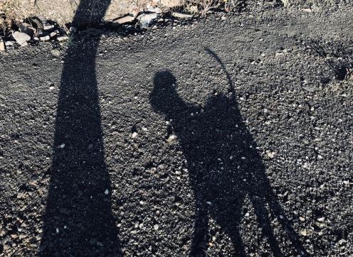 Chris' little shadow
