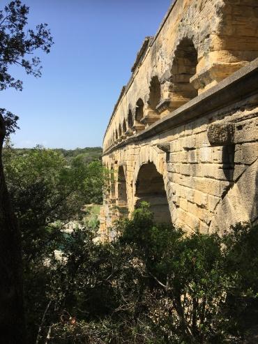 Pont du Gard ancient stones