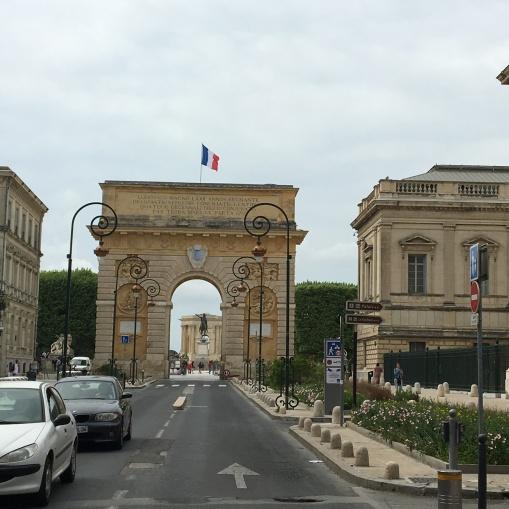 even their own Arc de Triomphe