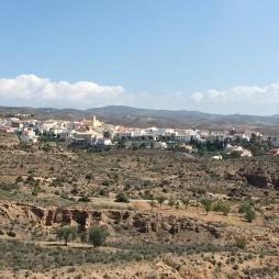 Taberno, our nearest village