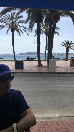 Lunch views at Javea