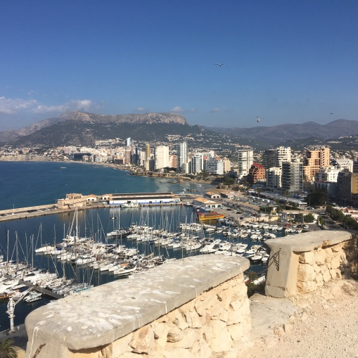 Calpe from the Peñon d'Ifach walk