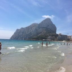 Peñon d'Ifach from the northern beach