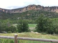Rock formations near Una