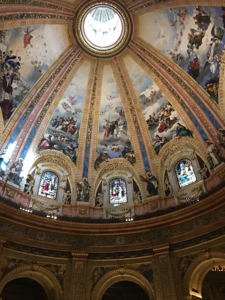 Dome in St Francis Basilica