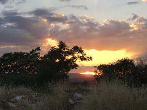 Guadix sunset