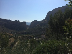Views of the valley near Jaen
