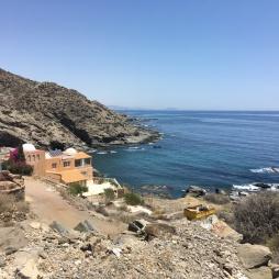 Coastal views when riding