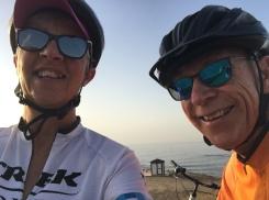 Cycling buddies...