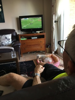 Watching the NZ v France rugby