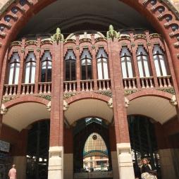 Market facade