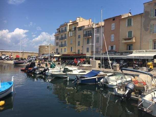 St Tropez marina