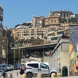 Genoa stop to change transport