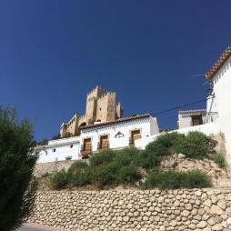 Castle at Velez Blanco