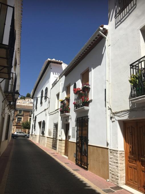 Beautiful village of Velez Blanco