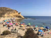 Playa Carolina near Aguilas