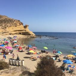Playa Carolina near Aguilas