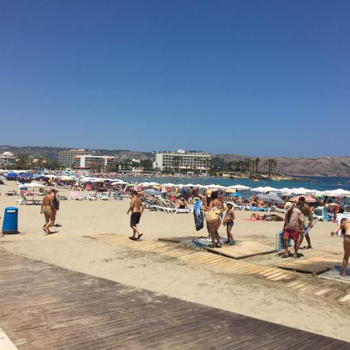 Javea beach