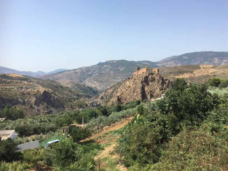 Terrain, roads and mountains of the Alpujarras