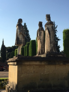 King, queen and Christopher Columbus