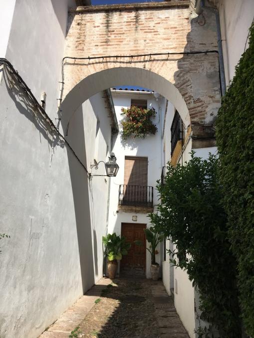 Hidden alleys in Cordoba