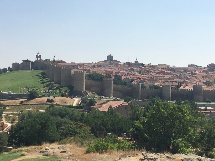 Avila from the highway