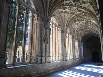 More ornate cloisters