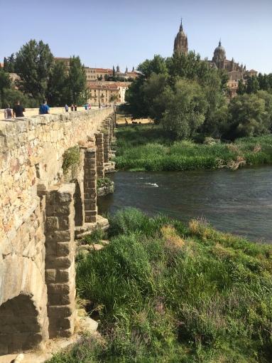 Salamanca river bridge