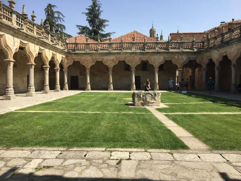 Cloistered courtyards