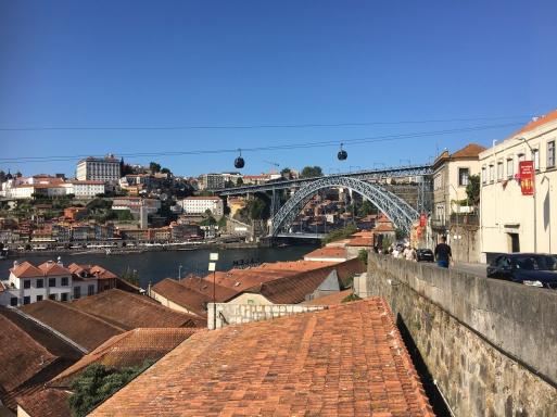 Bridge over the Douro river