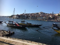 Old Portugese river boats