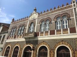 Tiled facades in Porto