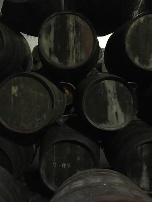 Ancient barrels
