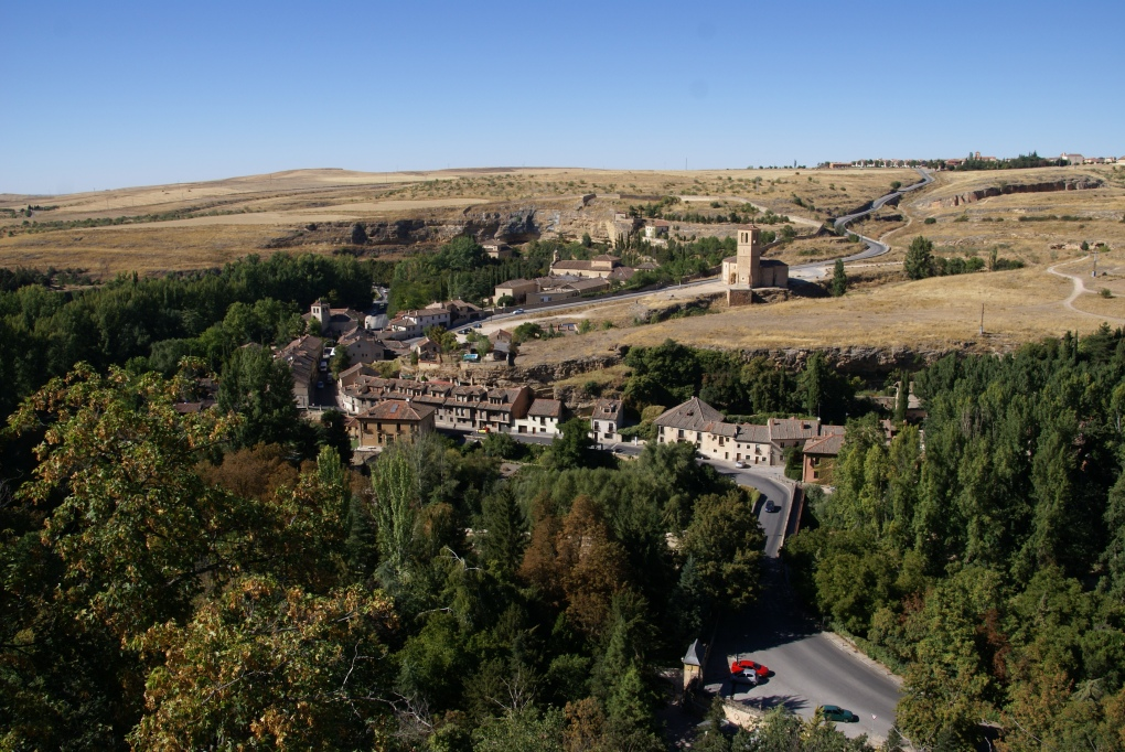 Views of Segovia countryside