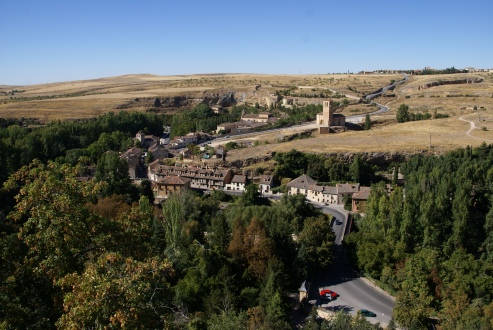 Views of Segovia countryside