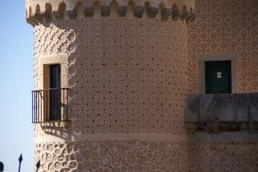 Detail of stonework decoration