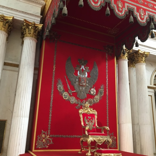 Hermitage Throne room