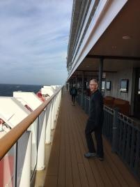 Wandering the decks