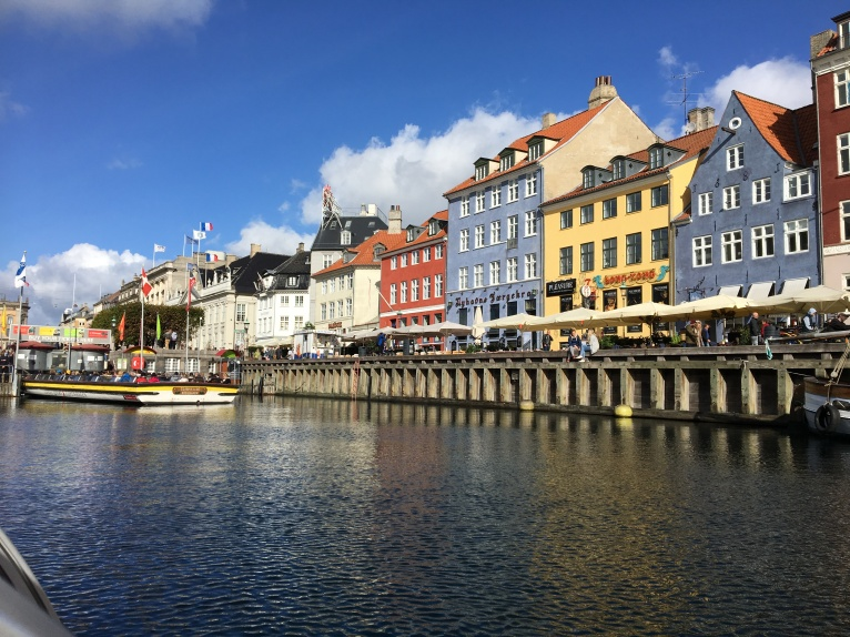 Nyhavn from the canal